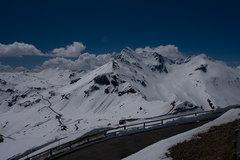 Mountains, clouds, beautfiul place