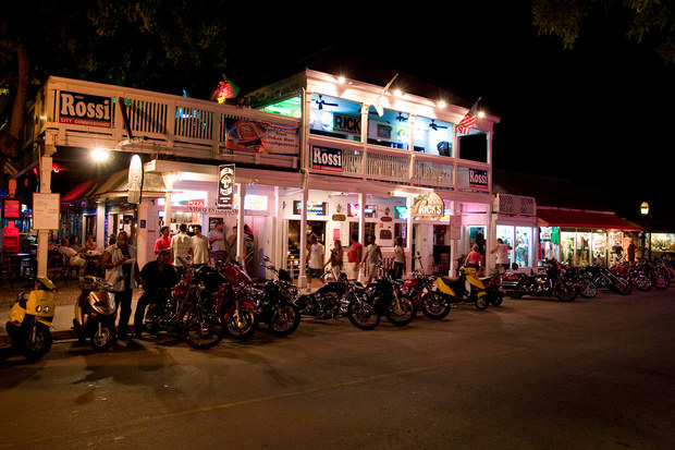 Key West, FL - Duval street at night by Mbike.com - Mbike.com on key west hotel map, key west area map, key west historic district map, key west tourist map, key west tour map, key west bar map, mallory square key west map, key west neighborhood map, johnson street key west map, the meadows key west map, key west city map, florida keys map, front street key west map, truman annex key west map, monroe county key west map, beaches key west map, key west road map, key west fl street map, 0 duval street map,
