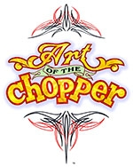 """ART OF THE CHOPPER"" EXHIBITION flyer"