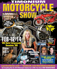 Timonium Motorcycle Show flyer