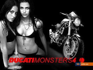 Ducati Monster Ad