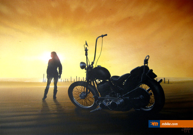 Miss Motorcycle by sthefo