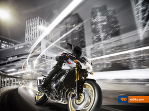 Yamaha FZ8 in Action