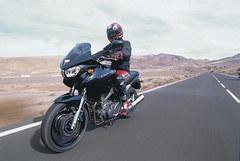 Yamaha TDM in the desert