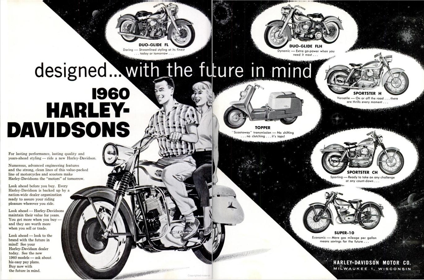marketing of harley davidson essay Harley-davidson marketing strategies filed under: essays tagged with: motorcycle harley-davidson understands that it is as important to maintain their current enthusiasts as it is to develop new ones no where is this more evident than in their mission statement: we fulfill dreams.