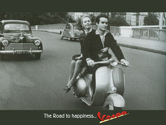Vespa - the road to happiness