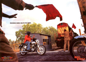 2003 Royal Enfield ad India