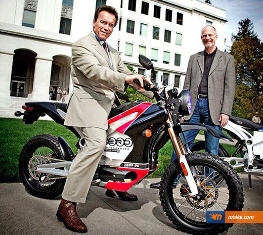 Arnold Schwarzenegger Zero Motorcycles