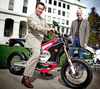 Arnold Schwarzenegger Zero Motorcycles