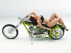 Custom chopper and model