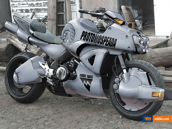 Mospeada Ride Armor Motorcycle