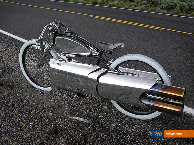 Pulse Jet Board Bicycle