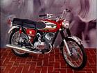 Vintage motorcycle ad