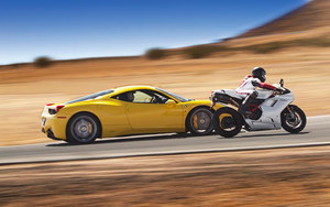 Ferrari and Ducati