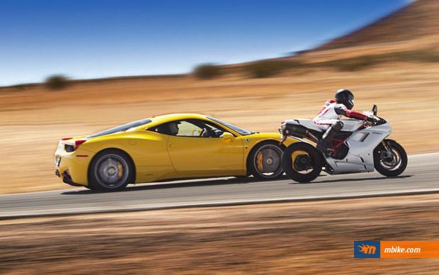 Ferrari and Ducati