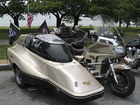 Honda with sidecar