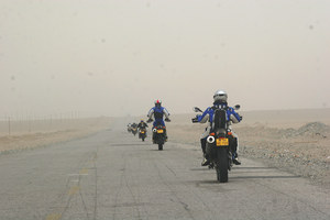 Motorcycle tour in China