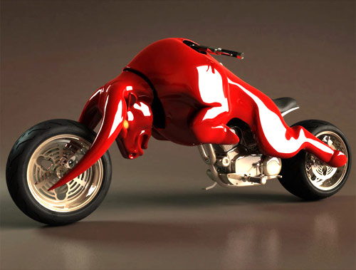 Red Bull Motorcycle Concept 01