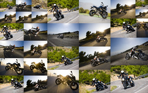 2011 KTM 990 Super Duke photos collage