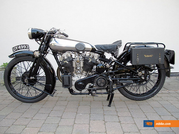 The 1929 Brough Superior SS100