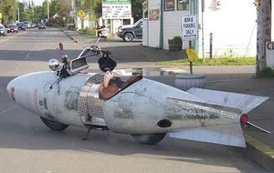 Weird motorcycle