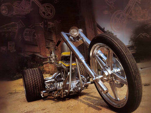 Custom trike