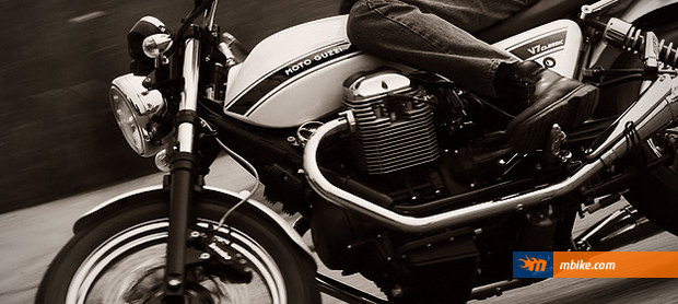 Moto Guzzi in action