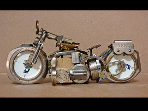 Wristwatch motorcycles 09