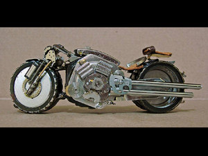 Wristwatch motorcycles 13