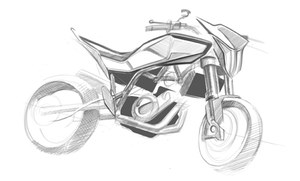 Husqvarna 900cc street bike sketches_1