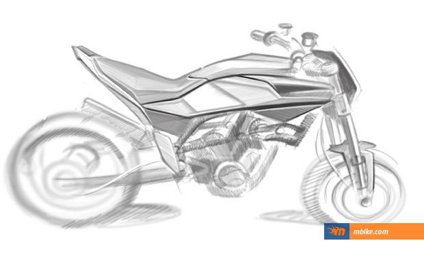 Husqvarna 900cc street bike sketches_2
