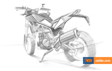 Husqvarna 900cc street bike sketches_3
