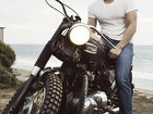 Dave Franco on Motorcycle