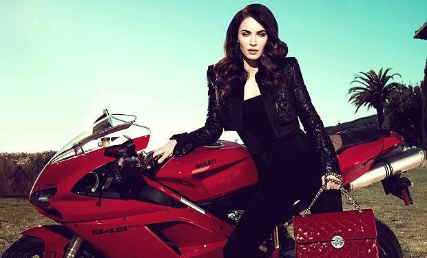 Megan Fox Ducati
